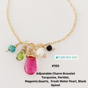 Sophia grace maui gemstone charm bracelet